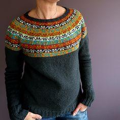 Crochet Patterns Sweter Ravelry: HeleenK & # s Miss Rachel Fair Isle Knitting Patterns, Fair Isle Pattern, Knitting Charts, Knitting Designs, Knit Patterns, Hand Knitting, Crochet Woman, Knit Crochet, Pulls