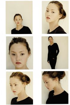 Devon Aoki. She has one of the most interesting faces on the planet. Change her makeup just a little and she looks like a different person. Here she looks very natural. I think she's just overall stunning.
