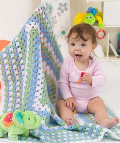 Granny Blanket-to find pattern click download printable instructions