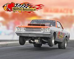 Dodge Rebellion Girl   Mopar Rebellion   Drag Racing