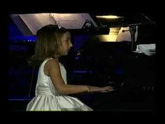 Emily Bear. This child is Amazing. It would be good for showing kids children their own age playing like this. And use Music Express from a few years ago that has her interview in it!