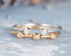 HANDMADE RINGS & BRIDAL SETS by MoissaniteRings on Etsy Bridal Ring Sets, Handmade Rings, Wedding Rings, Unique Jewelry, Stud Earrings, Engagement Rings, Diamond, Gifts, Etsy