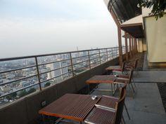 Millennium Hilton in Bangkok Executive Lounge outdoor seating area Outdoor Seating Areas, Bangkok, Family Travel, Lounges, Blog, Home Decor, Family Trips, Decoration Home, Room Decor