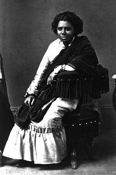 Edmonia Lewis (1845-1909) was an African American and Native American sculptor that would find success despite discrimination for her race and gender. She was an art student at Oberlin College and would excel in her courses but would later drop out after being accused of theft and poisoning two classmates; this led to a mob beating her up severely, only to have her acquitted of any wrong doing at trial.