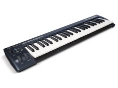 Buy M-Audio Keystation 49 II, Portable USB/MIDI Keyboard Controller with Synth-Action Velocity-Sensitive Keys and Studio Software from Sonivox (Eighty-Eight Ensemble) for Mac and PC. Free delivery and returns on eligible orders. Ableton Live, Digital Audio Workstation, Music Software, Studio Software, Midi Keyboard, Mac, M Audio, Home Studio Music, Recorder Music