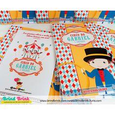Circo Vintage - Revista para Colorir