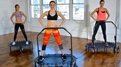 Get low-impact cardio with this 4-week trampoline workout plan from Krystal Dwyer.