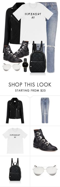"""""""Untitled #3051"""" by elenaday on Polyvore featuring GRLFRND, Givenchy, STELLA McCARTNEY, Victoria Beckham and ROSEFIELD"""