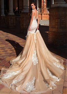 Marvelous Tulle & Pongee Bateau 2 In 1 Wedding Dresses With Lace Appliques