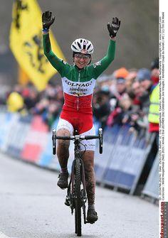 Eva Lechner wins World Cup Hoogerheide Cycling News, World Cup, Mud, Gears, Racing, Bike, Women, Fashion, Running