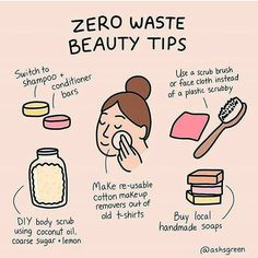 Low waste beauty Zero waste beauty tips (DIY body scrub, reusable makeup wipes, shampoo and conditioner bars) Zero Waste, Reduce Waste, Diy Utile, Tea Tree Essential Oil, Essential Oils, Diy Body Scrub, Natural Shampoo, Solid Shampoo, Natural Hair