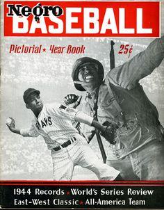 negro league baseball | Negro Baseball Pictorial Yearbook , 1945