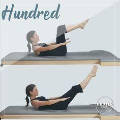 El Hundred es un ejercicio clásico del método Pilates que nos ayuda a  calentar el cuerpo 4449994b5f13
