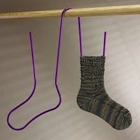 Socks dry quickly on Signature's new sock blockers. Air easily flows through your socks for optimal drying. Signature Sock Blockers are currently available in 2 sizes: Crochet Socks, Knitted Slippers, Knitting Socks, Hand Knitting, Knit Crochet, Crochet Granny, Knitting Machine, Vintage Knitting, Loom Knitting Patterns