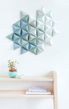 DIY | sculpture mural #ClippedOnIssuu from Knot n°1