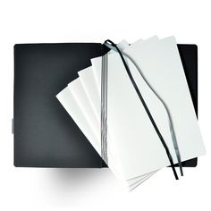 Whitebook Soft, S210, Gris Perle - Soft: Calf leather - Notebooks - Shop Online Leather Notebook, Calf Leather, Notebooks, Calves, Shopping, Fashion, Moda, Baby Cows, Notebook