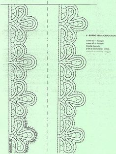 trine a tombolo disegni - Cerca con Google Floral Embroidery Patterns, Bobbin Lace Patterns, Embroidery Designs, Bruges Lace, Romanian Lace, Bobbin Lacemaking, Point Lace, Needle Lace, Lace Making
