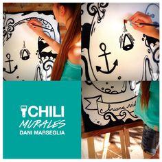 Murales e ilustraciones a gran escala. Chilipapers by Dani https://www.facebook.com/chilipapersarg