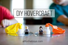 Activities, Ideas, Travel, Movies & Technology for Kids - All for the Boys - DIYHovercraft