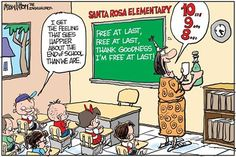 """I told my students that I am just as excited as they are and one responded, """"But I'm not excited."""""""