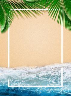 Full Ocean Beach Border Background - Fushion News Beach Background Images, Water Background, Seaside Beach, Ocean Beach, Sand Beach, Beach Mat, Ocean Backgrounds, Colorful Backgrounds, Exotic Beaches