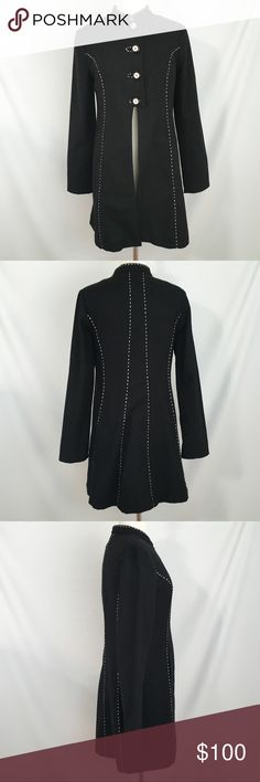 Snak Anthropologie Wool Coat 8 No holes, stains, rips, or tears. Like new. Anthropologie Jackets & Coats