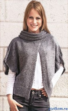 coletes de tricô femininos charmosos