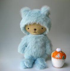 Kawaii Baby Bear Plushiie By Bijoukitty
