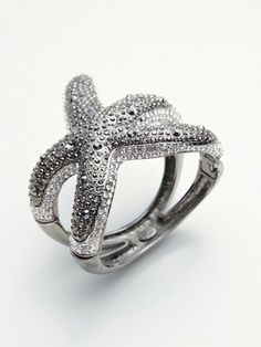 Starfish Bangle | Kenneth Jay Lane starfish bangle