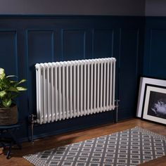 IN STOCK: best prices on Bern 600 x White Double Horizontal Column Radiator - please select - please select - choose between 482 Central heating steel radiators Best Radiators, Cast Iron Radiators, Bedroom Radiators, Modern Radiators, Wall Radiators, Traditional Radiators, Horizontal Radiators, Column Radiators, Cottage Living Rooms