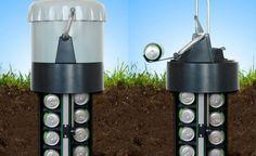 Cooler sustentável resfria latinhas ao ser enterrado no chão