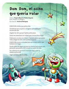 Cuentos Country Day School, Poetry For Kids, Baby Sensory, Reading Activities, Speech And Language, Reading Comprehension, Story Time, Pre School, Kids Learning