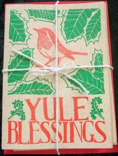 A bad witch's blog: Pagan Yule Cards and Starting Festive Shopping