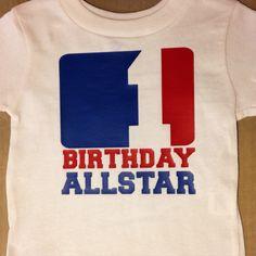 1st birthday allstar