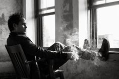 Preparing for a season of HBO hit True Detective, actor Taylor Kitsch connects with Interview magazine for a photo shoot in its November 2014 edition. Taylor Kitsch, Thank You For Smoking, Tim Riggins, Templer, The Fashionisto, Timothy Olyphant, The Way He Looks, Hey Good Lookin, True Detective