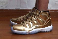 """Sample: Air Jordan 11 Retro """"Metallic Gold"""""""