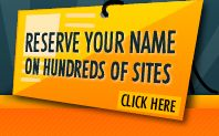 Check to see if your business name is available at different social media sites etc, just awesome
