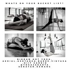 Bikram Yoga, Jakarta, Gym Equipment, Sports, Movies, Movie Posters, Hs Sports, Film Poster, Sport