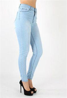 Yüksek Bel Karlı Jeans Pantolon | Modelleri ve Uygun Fiyat Avantajıyla | Modabenle