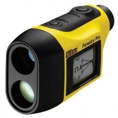 Nikon Forestry Pro - Telescópio a prova d'agua a laser  Mede a distância real existente, a distância horizontal, a altura, o ângulo e a separação vertical. Também possui medição de três pontos