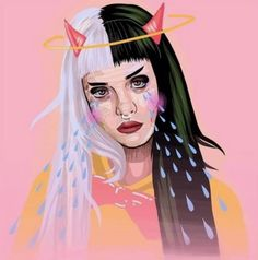 Find images and videos about art, melanie martinez and cry baby on We Heart It - the app to get lost in what you love. Melanie Martinez Music, Melanie Martinez Drawings, Crybaby Melanie Martinez, Billie Eilish, Cry Baby, Shawn Mendes, Martinis, Sending Love And Light, Guy