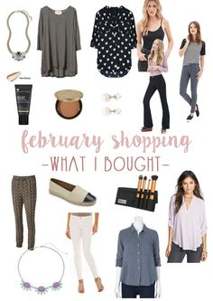 February Shopping Haul: What I Bought / hellorigby seattle fashion blog