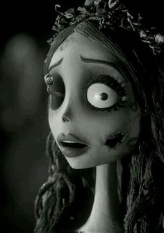 ~ † Helena Bonham Carter ~As Emily In A Scene From The Corpse Bride ~