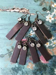Leather BoHo glam simple statement accessory festival style