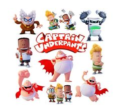 Captain Underpants by KisaDesigns on Etsy