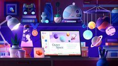 Illustration Sketches, Graphic Design Illustration, Illustrations, 3d Icons, Space Projects, 3d Studio, 3d Artwork, Kid Spaces, Motion Design