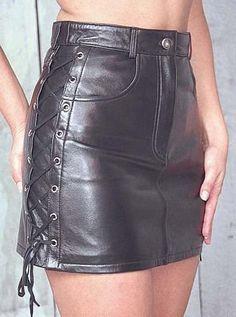 Women's Shorts/Dresses > Leather Skirts