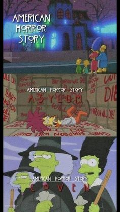 Simpsons -American Horror Story style