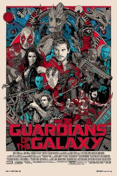 Guardioes da Galaxia poster Mondo