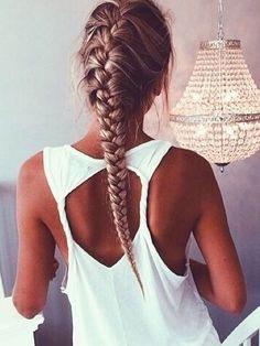 10 idées de coiffures cool pour faire du sport - Grazia
